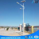 IP66 la lampada di via esterna solare impermeabile della sosta del video LED assicura l'obbligazione della sosta