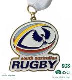 Médaille nickelée personnalisée de récompense de marathon d'antiquité du logo 3D