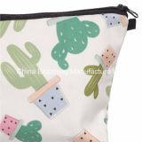 sacchetto cosmetico di trucco della matita della lavata dell'articolo da toeletta delle donne del poliestere 300d