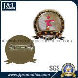 Il Pin morbido in lega di zinco del risvolto dello smalto della pressofusione con la spilla di sicurezza