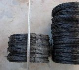Чернота обожгла утюг штангу конструкции провода/черный обожженный Twisted провод