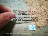 Etiketten van het Inlegsel van de Spaanders RFID van identiteitskaart az-U71/U72 van EPS Gen2 Ucode7 de UHF