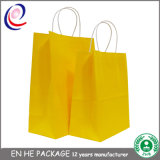 Sac en papier recyclé de promotion recyclé de luxe avec le meilleur prix