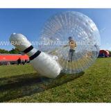 Bille de bowling gonflable, bille colorée de Zorb d'herbe du football, bille de roulement de butoir gonflable, bille de bowling gonflable