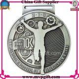 Medaglia di sport del metallo per il regalo della medaglia con il disegno del cliente