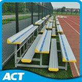 Портативные алюминиевые крытые Bleachers с сенью, передвижные Bleachers для сбывания, стойки стадиона