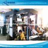 печатная машина высокоскоростной хозяйственной сумки полиэтиленовой пленки 4color Flexographic