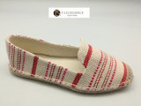 نساء جذّابة أحمر وبيئيّة [إسبدريلّ] حذاء رياضة سيّدة مسطّحة [سبنيش] [إسبدريلّ] أحذية