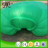 Grüne Farben-faltendes Luft-aufblasbares kampierendes Bett
