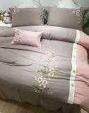 Algodão luxuoso ajustado do Comforter para o quarto
