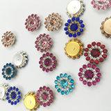Установка когтя цветка 2017 новая кристаллов оптовой продажи 7mm свободная Swaro прибытия шьет на стеклянных бусинах (роза TP-7mm круглая)