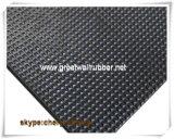 Fabrik-Großverkauf-kleiner Diamant-Gummiblatt, Gummifußboden-Matte,