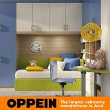 Les meubles de la chambre à coucher des enfants colorés d'Oppein badinent les meubles en bois (OP16-KID03)