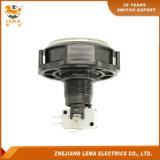 Commutateur micro Pbs-006 de bouton poussoir blanc rond électrique de 3A 8A 16A 98mm