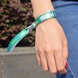 Aduana linda del Wristband de la pulsera de la sublimación de la tela impresa