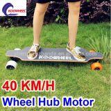 Patín eléctrico alzado popular de 4 ruedas
