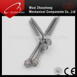 Edelstahl-Hex Selbstbohrende Schrauben DIN7504k mit Unterlegscheibe