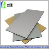 Material de construção para a decoração Using o painel composto de alumínio da cor de prata