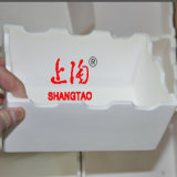 Alta Al2O3 Alumina Ceramic Sagger Box Crucible