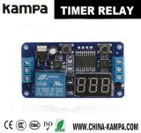 12V модуль релеего командного выключателя отметчика времени цифровой индикации высокой эффективности СИД