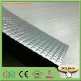 Placa de borracha da espuma da folha de alumínio de qualidade superior