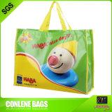 Зеленый мешок супермаркета для покупкы (KLY-PN-0046)