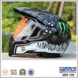 Холодная профессиональная штейновая чернота с шлема мотоцикла дороги (CR401)