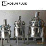 Bouilloire chimique industrielle de réaction de vide de pression d'acier inoxydable