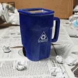 Tazza di caffè resa personale divertente di ceramica della tazza di tè di nuovo disegno
