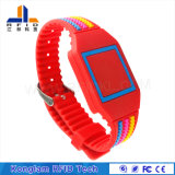 Beweglicher RFID SilikonWristband des Drucken-