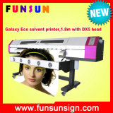 Galassia 1.6m/1.8m/2.1m Inkjet Printer Eco Solvent Printer con One or Two Original Dx5 Head