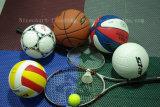 De Tegels van de Vloer van het Hof van het Volleyball van de School van het stadion, de Bevloering van het Hof van het Volleyball van de opleiding