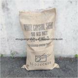 25-50kgs PP tecido laminou o saco da tela para o fertilizante, arroz