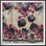 Чувствительный Nylon шнурок вышивки Lacetulle вышивки сетки