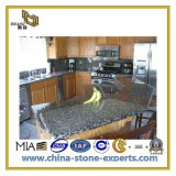Kitchen (YQC)のための自然なStone Blue Pearl Granite Countertop