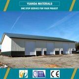 Edificio de la estructura de acero del almacén del taller de la fabricación del diseño