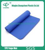 Stuoie di vendita calde di yoga, stuoie di esercitazione del TPE, stuoie di forma fisica di NBR