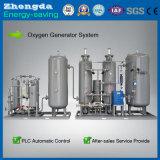 Sistema de gerador do oxigênio de Vpsa da pureza elevada para o cultivo dos peixes e do camarão