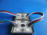 SMD 5050 4LED Lron Module RGB Waterproof DC12V