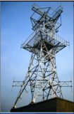 G/M marina /Telecom/Cellular/Microwave, Galvanized Communication Tower con ISO Certified (MZ-CT)