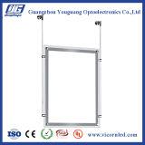 cadre acrylique transparent d'éclairage LED de côté de double d'épaisseur de 14mm