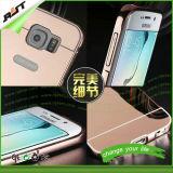 Край Samsung S7 аргументы за телефона зеркала металла Rosegold