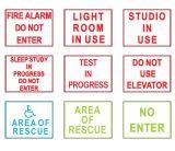 Mensajes de advertencia LED Display Junta señal luminosa de rayos X de uso Entrar
