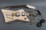 Грандиозное нот/Die-Cast золотом набор электрической гитары DIY (A87)
