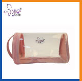 Transparente TPU Cosmetic Pouch Handhaben-Pouch mit Microfiber