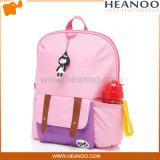 Boa trouxa cor-de-rosa dos sacos de escola das crianças da criança para a idade 3