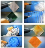Equipamento de aplicação de spray de tinta eletrostática em pó