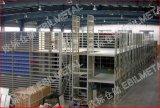 Stahlmezzanin beansprucht stark (CER u. TUV Diplomlagerracking) (EBIL-GLPT)