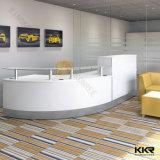 Recepção moderna da mobília de escritório e mesa de escritório