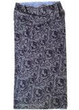 Навальная продукция подгоняла серым напечатанный полиэфиром обруч головки шарфа пробки безшовный